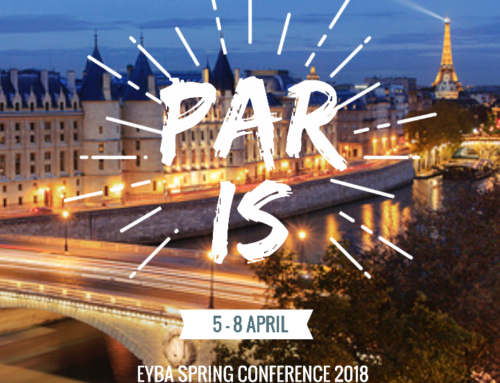 EYBA Spring Conference Paris – 5/8 avril 2018